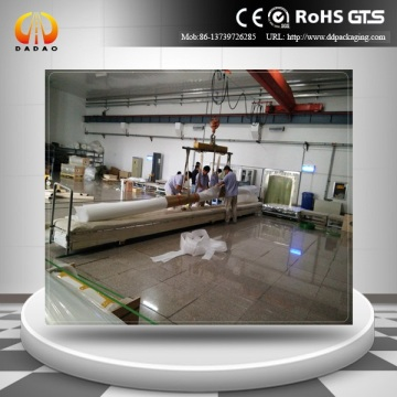5 meters clear mylar film projection