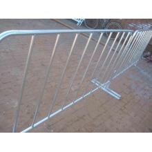 Steel Barricades Bridge Base Crowd Control Barriers