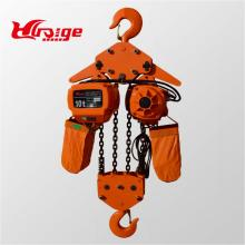 High quality motor chain hoist with motor trolley