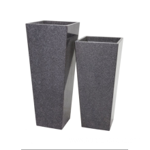 10 Years manufacturer for Outdoor Planters G654 granite big planter export to Japan Manufacturer