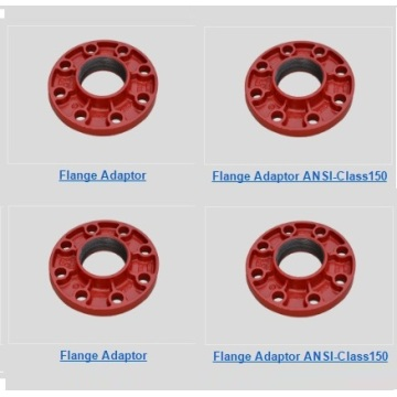 10 Years for Ductile Iron Flange Ductile Iron Grooved Flange Adaptor supply to United States Wholesale