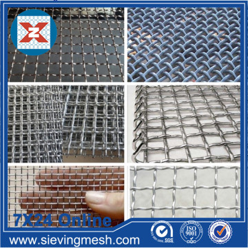 Crimped Weave Mesh Sheet