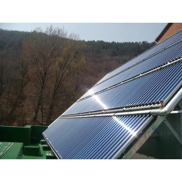 CPC reflector type vacuum tube solar collector
