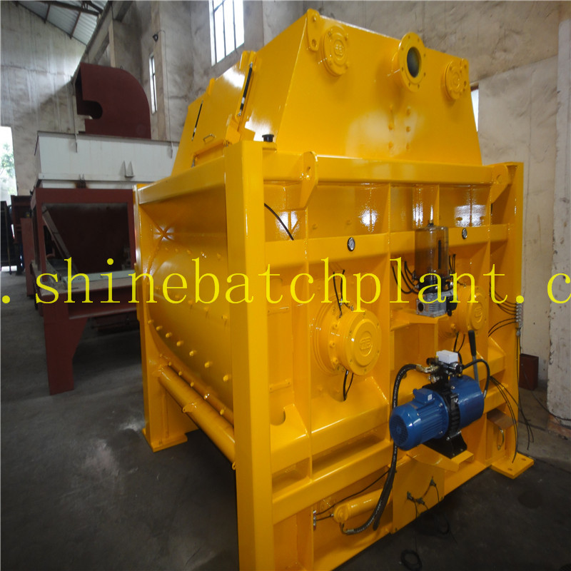 JS2000 Mixer For Concrete Batching Plant