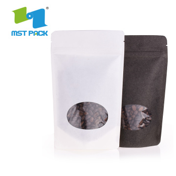 Recycable Dried Biodegradable Kraft Paper Bag Food Packaging