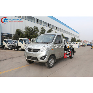 2019 new FOTON 4cbm hook loader container truck