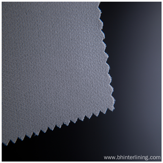 Polyester Eco Friendly Woven Fusing Interlining and lining