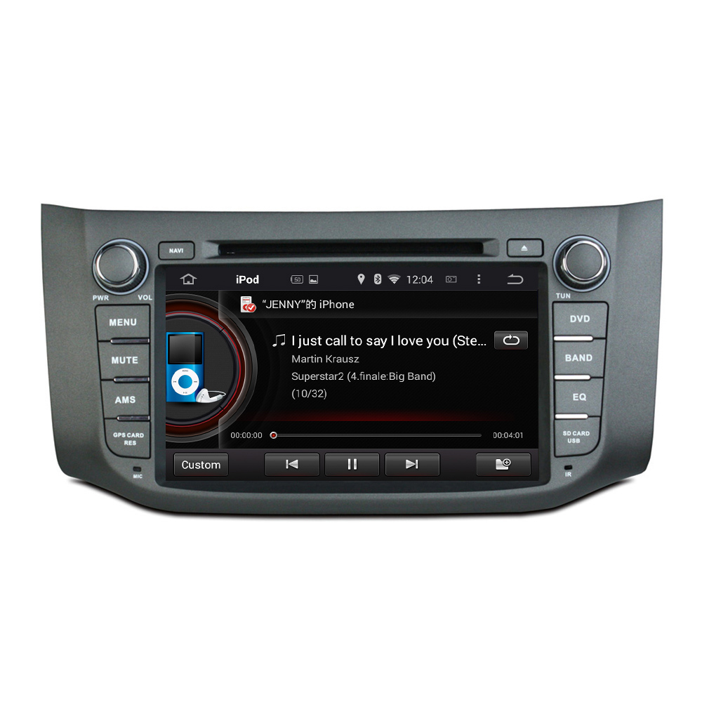 Android 5.1 dvd player for Sentra 2012-2014