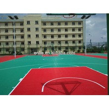 OEM China High quality for Basketball Sports Flooring outdoor basketball sports floor/modular Tiles supply to Poland Factories