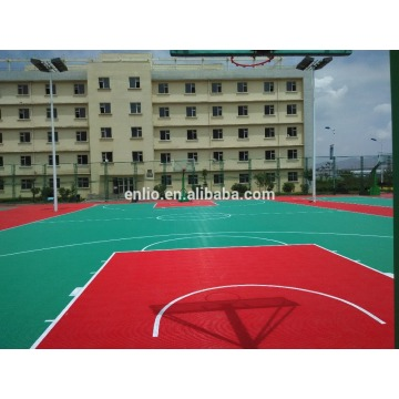 Purchasing for Basketball Court Flooring outdoor basketball sports floor/modular Tiles supply to France Factories