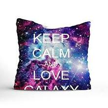 Funda de almohada con cremallera personalizada Fashion Stylish Galaxy Pattern