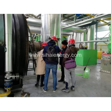 Car tires Recycling to Fuel Oil Pyrolysis Plant