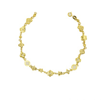 Bracelet 22 K Electroplated Gold Color