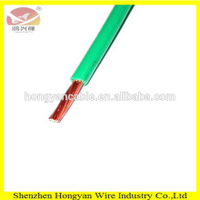 High quality PVC flexible bare copper BV 1mm2 electrical cable for house wiring