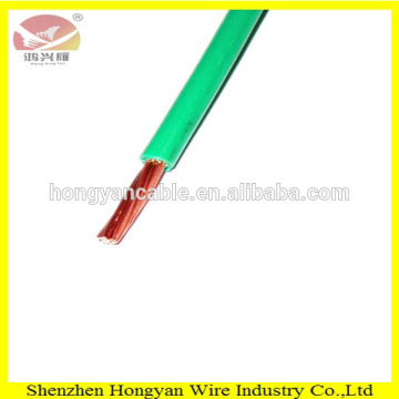 High quality PVC solid bare copper BV 1mm2 electrical cable for house wiring