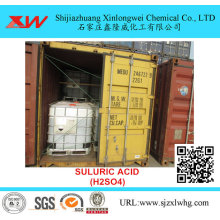 High Definition for High Purity Chemicals Battery Acid Sulfuric Acid 98 35% 32.5% export to Italy Importers