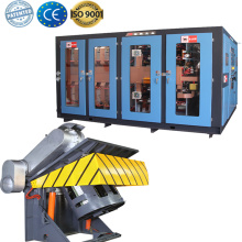 Induction furnace oven iron smelting machine