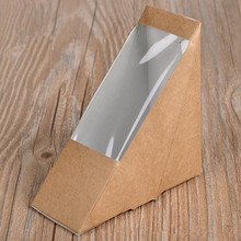 Triangular kraft sandwich boxes
