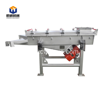grain sieving and grading machine linear vibrating screen