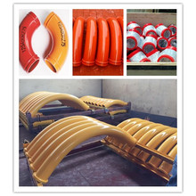 Quality for Concrete Pump Elbow Concrete Pump Parts Cast Elbow Bend Pipe supply to Malaysia Importers