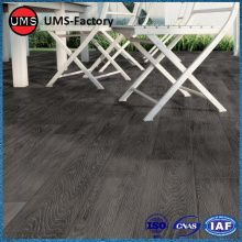 Wood effect tiles floor black for patio