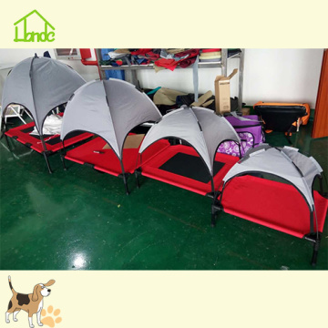 Metal Frame Pet Dog Bed With Waterproof Cover