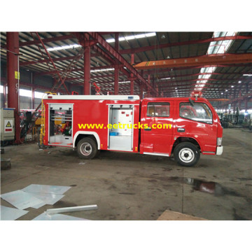 DFAC 3m3 Foam Fire Trucks
