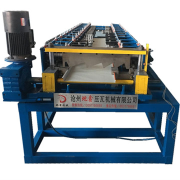 Roofing panel square plate roll forming machine