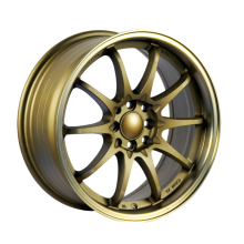 Bronze Painted Staggered Wheel