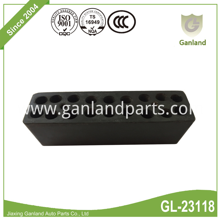 Black rubber buffer GL-23118Y3