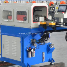 Semi-automatic round metal tube punching machine