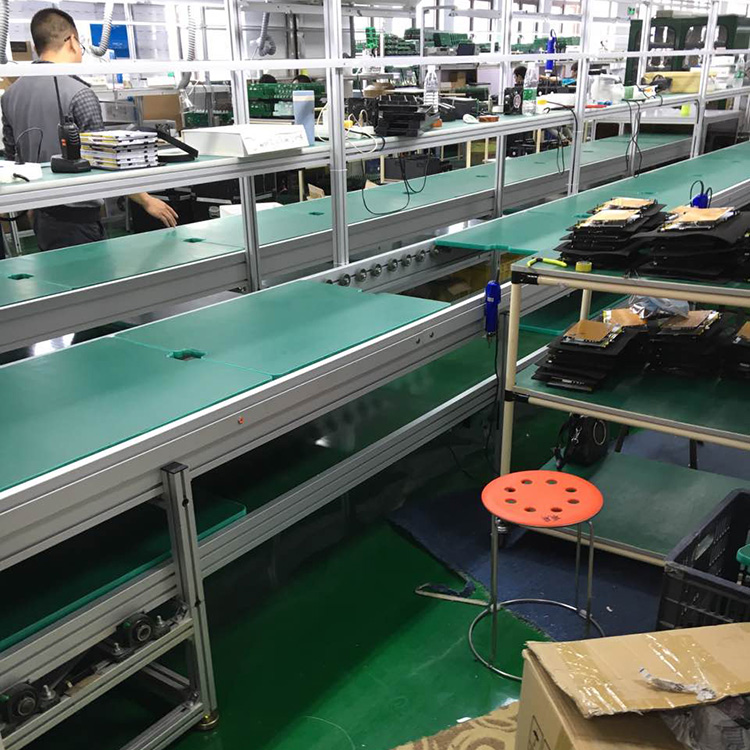Electric Oven Chain Conveyor Assembly Line with Pallets