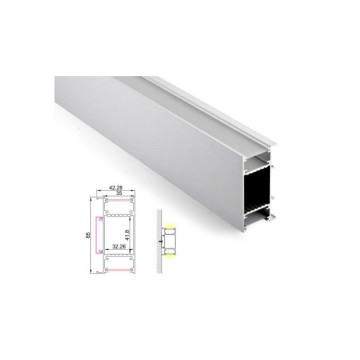 Bright White Linear Light