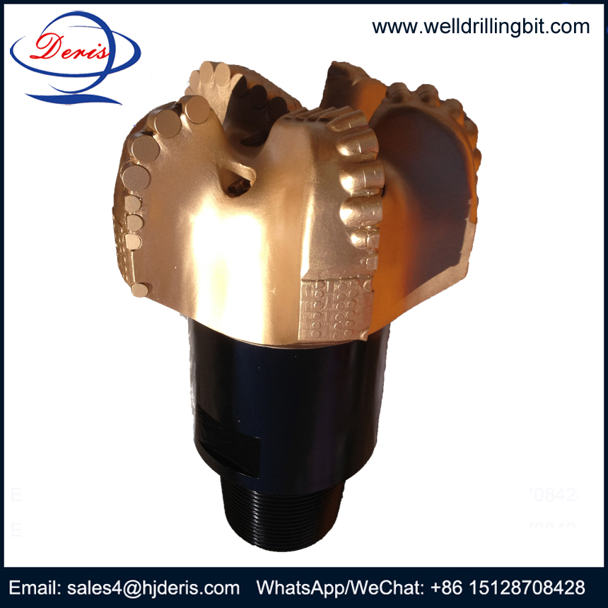 5 blades pdc bit for oil gas equipment