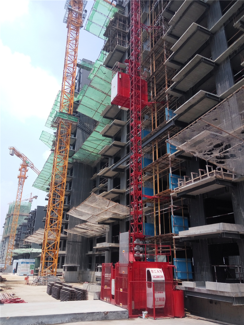 Construction Elevator Hoist