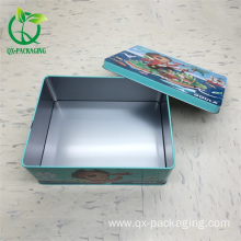 Square tin boxes wholesale