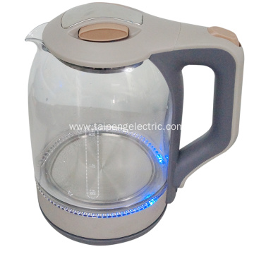 Low Cost for Stainless Steel Electric Tea Kettle Stainless steel electric glass kettle export to France Manufacturers