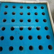 Round Hole Galvanized Perforated Metal Sheets