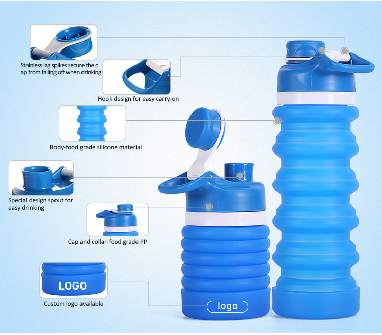 collapsible water Bottle Details