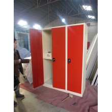 Top Suppliers for Sport Locker Swing Door Metal Wardrobe With Three Drawers export to Dominican Republic Suppliers