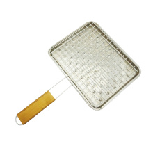 fish grilling accessories grill basket tools with pan