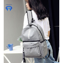 Korean printed backpack backpack for students