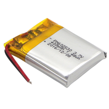 3.7v 400mAh LiPo Battery For Bluetooth Headset (LP2X3T6)