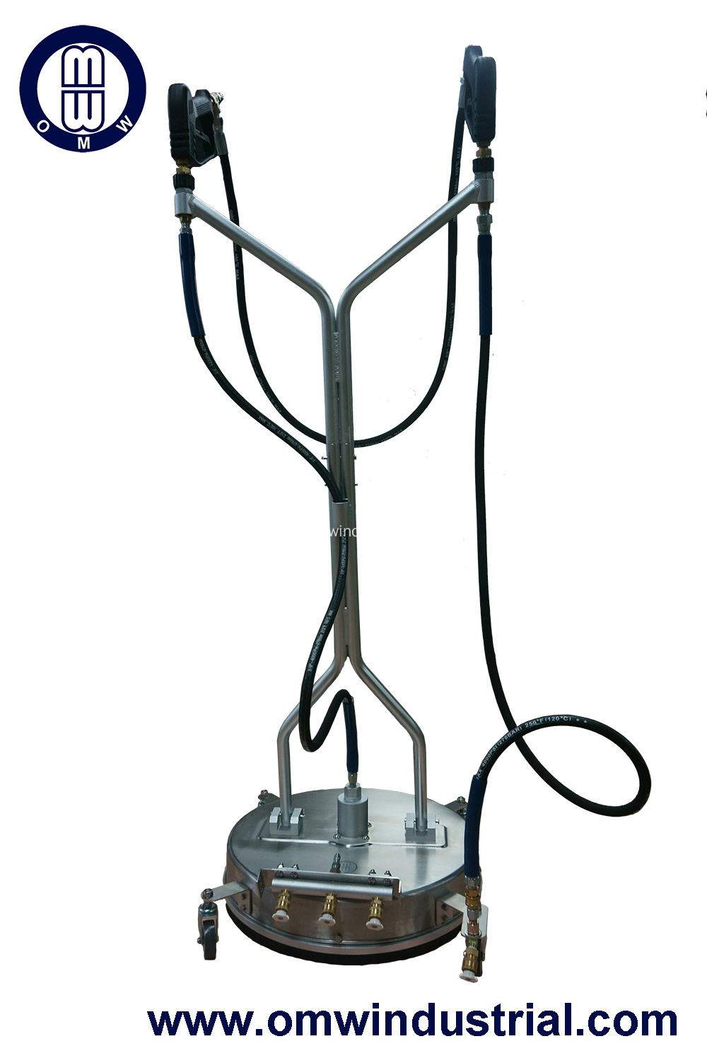 "Dual Trigger Gun 21"" S.S. Surface Cleaner with Water Broom Function"