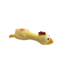 Plastic Yellow Chicken For Dog