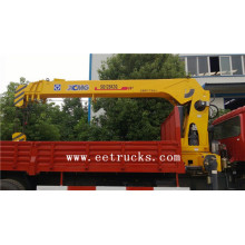 Fast Delivery for Dongfeng 4×2 Truck Cranes XCMG 10-30 TON Truck Mounted Cranes export to North Korea Suppliers