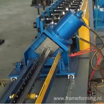 ware house Storage shelf upright pillar structural roll forming machine