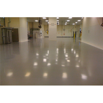 Anti-static metal aggregate floor