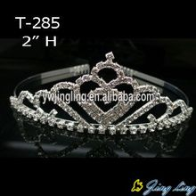 2 Inch Crystal Wedding Jewelry T-285