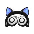 Fox Ears Unique LED Light Kids Headband Headphones